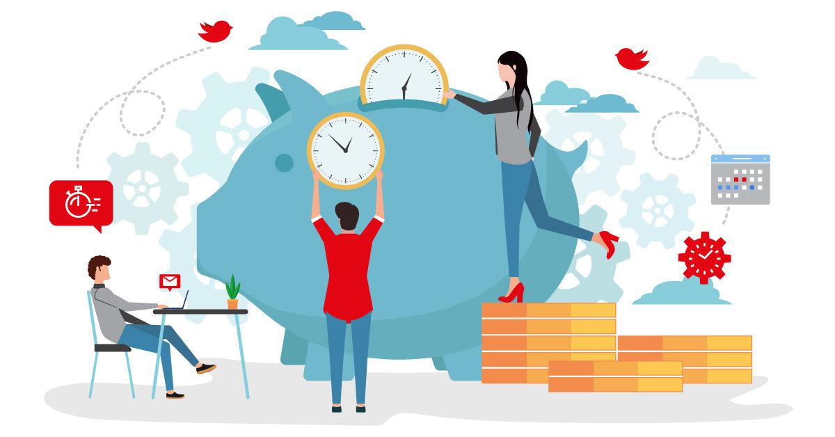 Как помагаме на клиентите си да пестят време